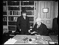 Oliver Wendell Holmes, Jr., right LCCN2016889965.jpg