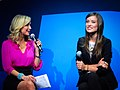 Olivia Wilde and Lara Spencer at CES 2011 1.jpg