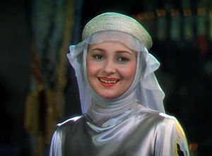 Maid Marian - Olivia de Havilland as Maid Marian