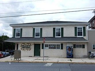 Shoemakersville, Pennsylvania - Image: Ollie's Tavern, Shoemakersville Berks Co PA