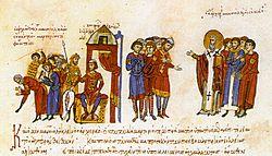 Khan Omurtag orders the killing of Christians