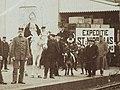 Ontvangst van Sinterklaas en Zwarte Piet op station Purmerend.jpg