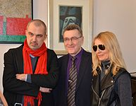 Opening of the exhibition «Adam Hlobus. Belarusian avant-garde of the 80-th» 24.03.2015 14.JPG