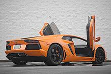Lamborghini aventador length