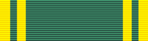 Order of San Carlos - Order of San Carlos ribbon bar