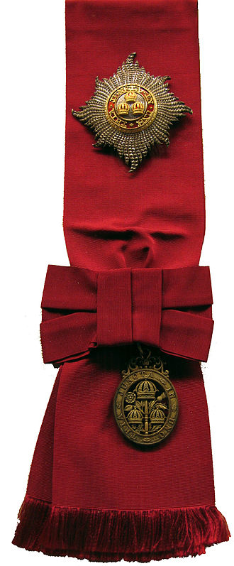 2015 Birthday Honours - Sash and star of the Order of the Bath, Grand Cross, civil division