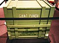 Original giant panda crate 03 - Richard Nixon Presidential Library and Museum.jpg