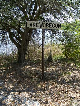 Ortona FL Lake Wobegon sign01