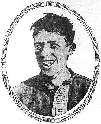 Ossie Vitt - Vitt in 1910