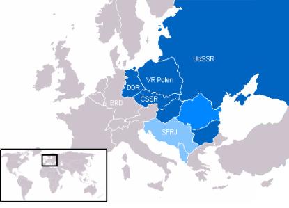 Ostblock in Europa