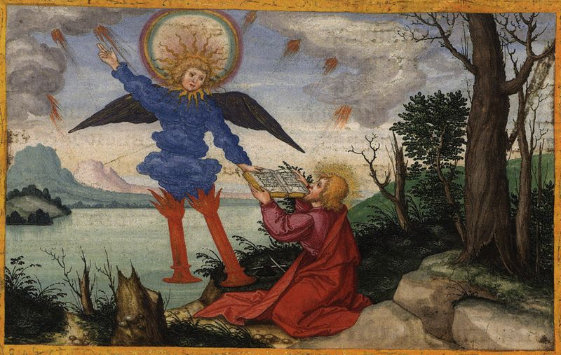 Апокалипсис Иоанна Богослова. Изображение: Википедия, автор Matthias Gerung (1500–1570)