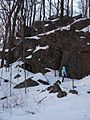 Outcrop on Powers Bluff.jpg