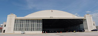 Aircraft Operations Center - Hangar 5 at MacDill AFB, former home of the AOC