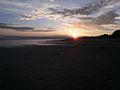 Päikeseloojang, Pärnu rand.JPG