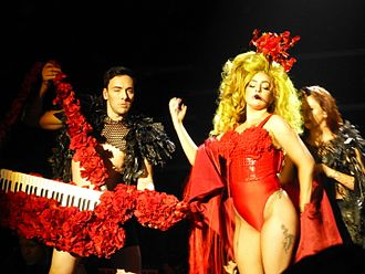 ArtRave: The Artpop Ball - Gaga performing during her residency show at Roseland Ballroom, March 2014