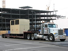 glossary of the american trucking industry a double dropdeck flatbed trailer