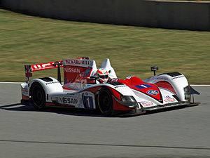 Alex Brundle - Brundle during qualifying for the 2012 Petit Le Mans