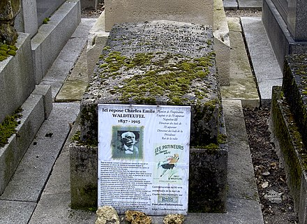 Grave of Emile Waldteufel at Pere Lachaise Cemetery PL Waldteufel.jpg