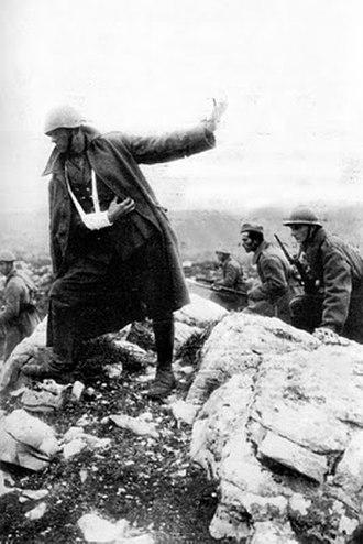 Georgios Prokopiou - Greek attack on the Albanian front (1940)