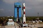 PSLV-C44 at First Launch Pad SDSC SHAR Sriharikota 09.jpg