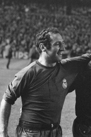 Francisco Gento - Gento with Real Madrid in 1967