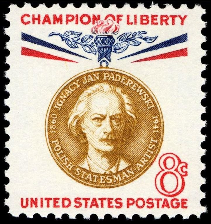 Paderewski 1960 issue