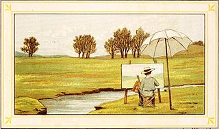 English painter, illustrator, glassmaker