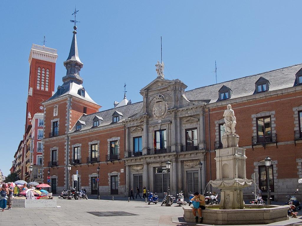 FUENTE DE ORFEO EN MADRID