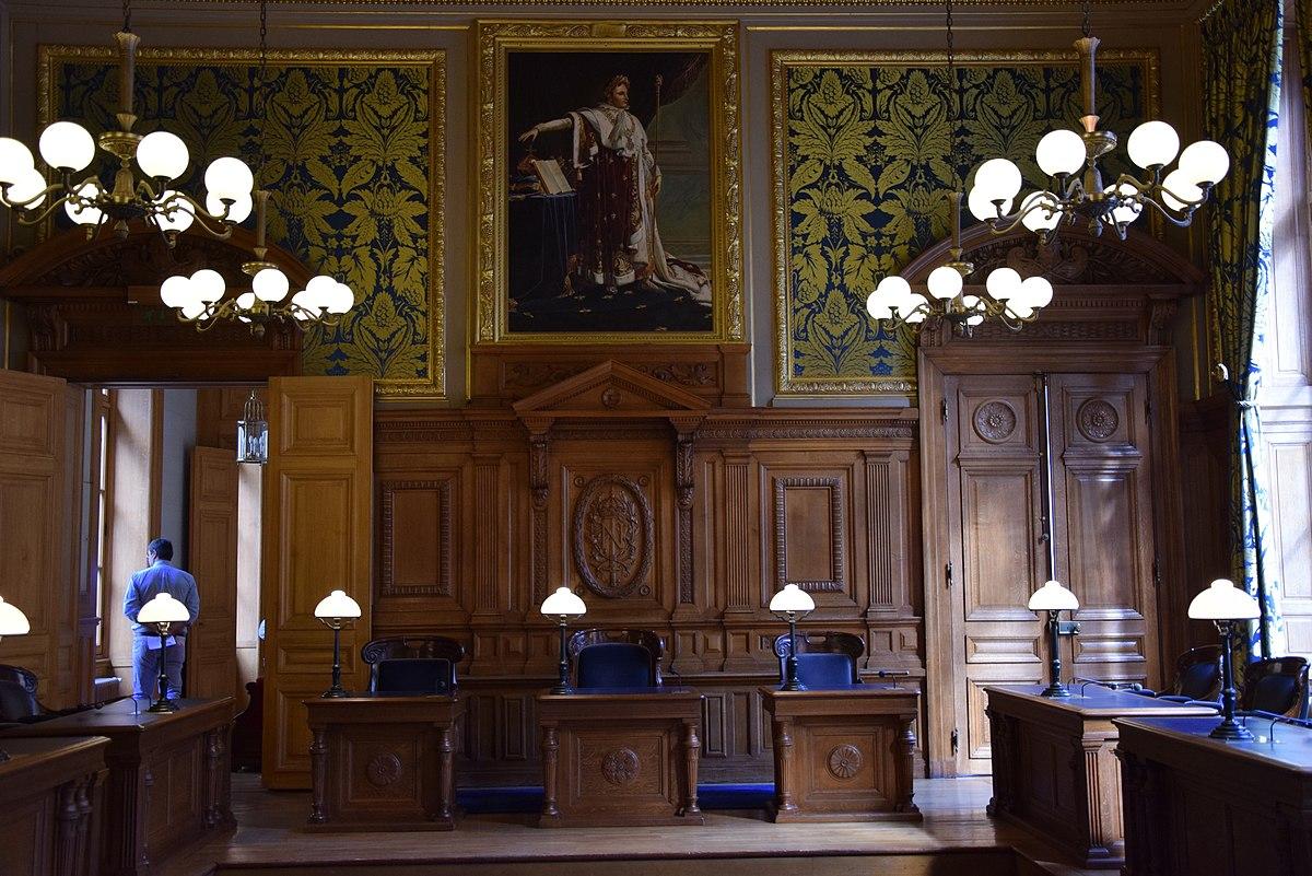 Chambre commerciale de la Cour de cassation française — Wikipédia