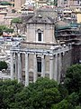 Palatine view of temple of antoninus.jpg