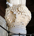 Palazzo dei gran maestri di rodi, sala dei colonnati, capitello 01.JPG