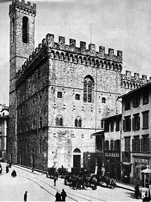 Podestà - The Palace of the Podestà in Florence, now the Bargello museum