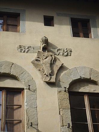 Palazzo dell'Arte dei Beccai - Image: Palazzo dell'arte dei beccai 03 stemma arte dei beccai