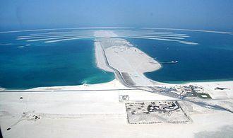 Palm Jebel Ali - Image: Palm Jebel Ali on 18 October 2007 Pict 3