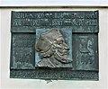 Pamětní deska Jana Husa na evangelickém kostele ve Vysoké (Q105003658) 02.jpg