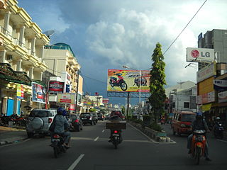 City in Bangka Belitung Islands, Indonesia
