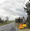 Panneau de sortie de Brans (Jura, France).JPG
