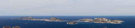 Panorama Marseilles islands