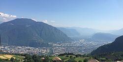 Panoramo de Bolzano-Bozen