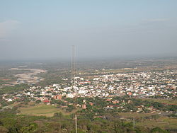 Panorama view of Yopal, from La Iguana Natural Park (Parque Natural La Iguana)