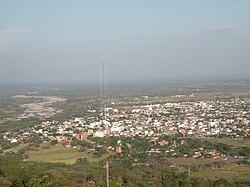 Panorama view of Yopal, from La Iguana Natural Park (Parque Natural La Iguana)