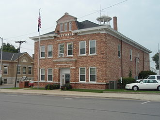 Paola, Kansas - Paola City Hall (2009)