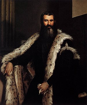 Portrait of a Gentleman in a Fur - Portrait of a gentleman in a fur