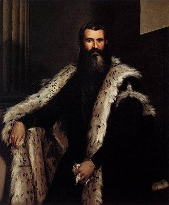 Portrait of a Gentleman in a Fur - Portrait of a gentleman in a fur