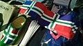 Paper Groninger flags, Paasmarkt Winschoten (2019).jpg