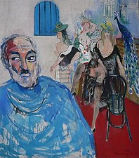 Parajanov 1994 Oil on Canvas 90cmx80cm.jpg
