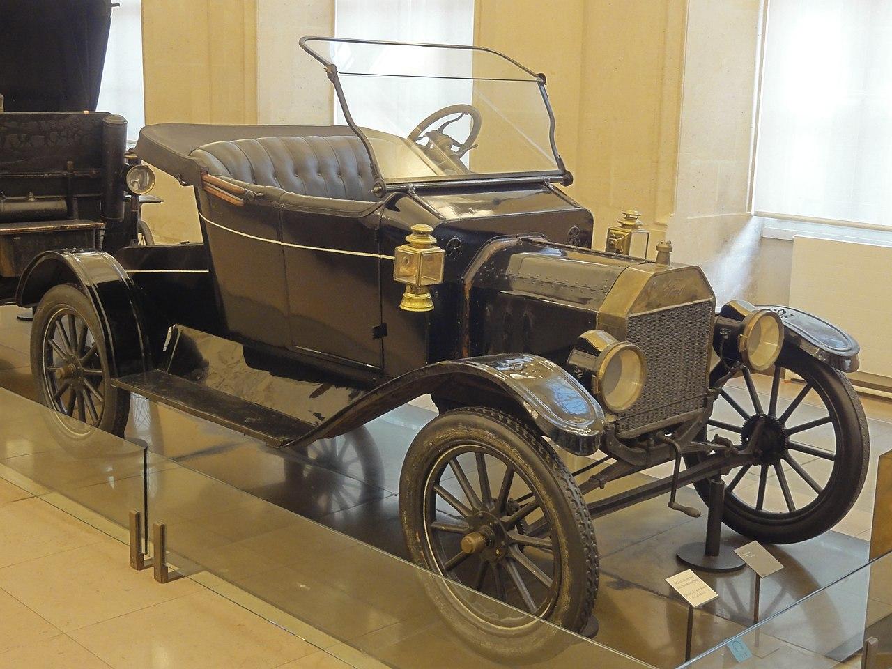 Build Your Own Ford >> File:Paris (75), musée des Arts et métiers, Ford model T, 1908 1.jpg - Wikimedia Commons