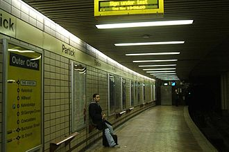 Glasgow Subway - Partick subway station
