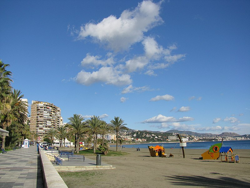 Paseo Marítimo Málaga