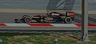 2015 Bahrain Grand Prix - Pastor Maldonado during Friday's second free practice session